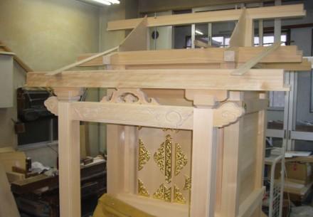八幡神社(脇社)新築工事