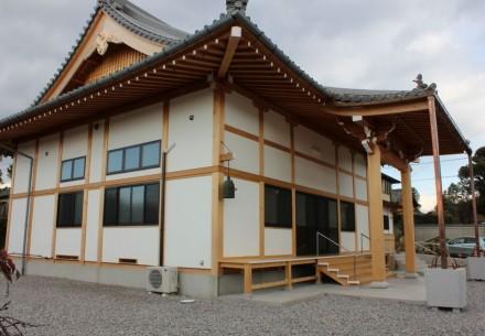 本縁寺本堂書院新築工事