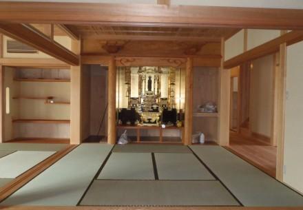 お寺の庫裡完成