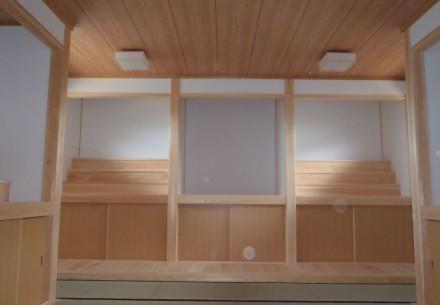 扶桑町安穏寺、位牌堂完成しました。