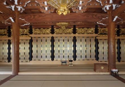 光泉寺本堂移設工事完了