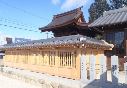 愛知県犬山市の熊野神社改修工事完了