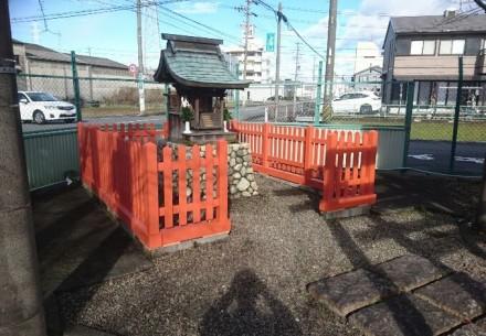 岐阜市の鳥居建て替え工事