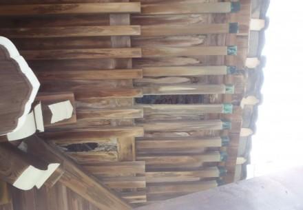 海津市の眞宗寺様 鐘楼堂改修工事