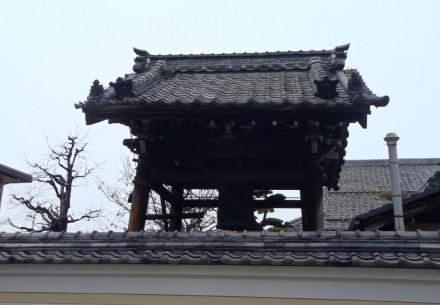 大垣市善教寺様鐘楼堂