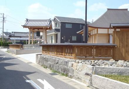 豊田市萬國寺様の鐘楼堂