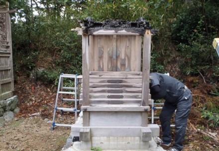 貴船神社お社修理工事